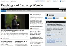 Aug 27 - Teaching and Learning Weekly:  Read and subscribe free at: http://paper.li/f-1328546324