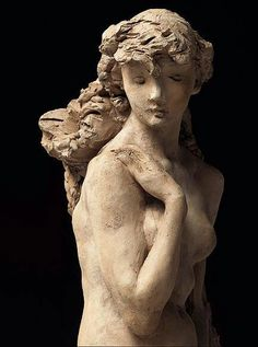 Girl with Wrath.  Camille Claudel. 1886.