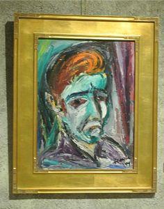 degrazia self portrait