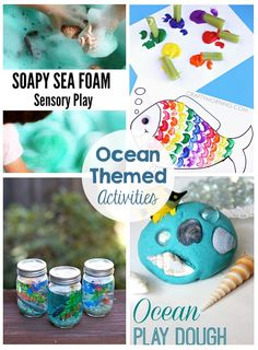 Ocean Themed Kids Activities - Printables, games, and more!  Perfect for summer fun!
