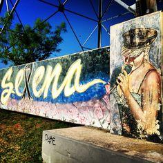 Selena Memorial on Lady Bird Hike & Bike Trail