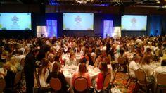 Kappa Kappa Gamma women enjoying lunch at #KKGHouston 2014!