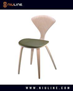 MARINO - Wood Chair, Natural Finish