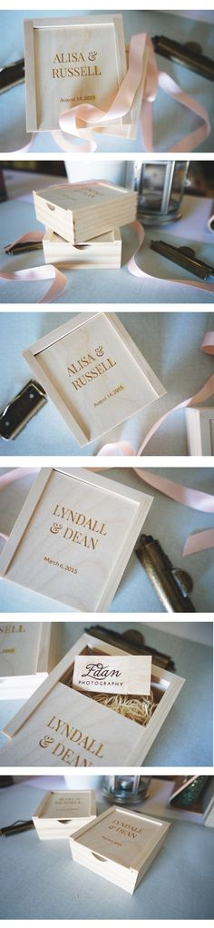 We absolutely love how adorable Edan Photography's new USB + Boxes are!
