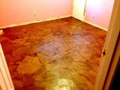 Paper Bag Flooring Brown