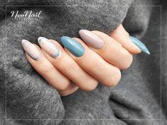 """Cold Pastel Manicure/ Blue Pastel Nail Polish 2018/ Cocoa Manicure/ Top Trendy Manicure 2018/ Color Street Nails Ideas/ Manekin Manicure/ Dip Manicure/ Stone Manicure/ Chłodny Pastelowy Manicure/ Kamienny Manicure/ Niebieskie Stylizacje Paznokci/ Pastelowe Lakiery Hybrydowe/ Sprawdź Jakich Produktów Użyliśmy <a href=""""https://www.neonail.pl/inspiracje/kamienne-zdobienie.html?pa=8&utm_source=social&utm_medium=pinterest"""">Kliknij Tutaj</a>"""