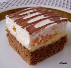 Pikao rezy Czech Recipes, Ethnic Recipes, Sweet And Salty, Tiramisu, Ale, Sweet Tooth, Food And Drink, Sweets, Cooking