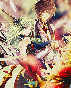 Code Geass - Lelouch and CC