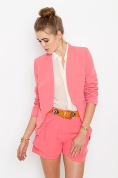 This is the best work outfit I've ever seen.   Work It Blazer