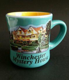 Winchester Mystery House Souvenir Collectors Cup Coffee Mug San Jose California #Unknown