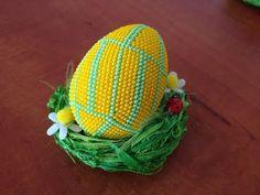 (9) Návod - Háčkované korálkové vejce 6cm 1 Díl - Crochet bead egg 6cm part 1 - YouTube
