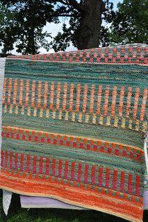 Weaving Patterns, Knitting Patterns, Loom Weaving, Hand Weaving, Rag Rugs, Weaving Projects, Woven Rug, Fiber Art, Scandinavian Rugs