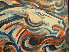 Denver Painting by Justin Patten Sports Art by stormstriker, $125.00
