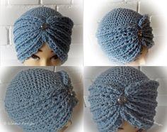 Hut,Turban oder Mütze - all in one von ULeMo de casquettes, chapeaux, sacs et plus auf DaWanda.com