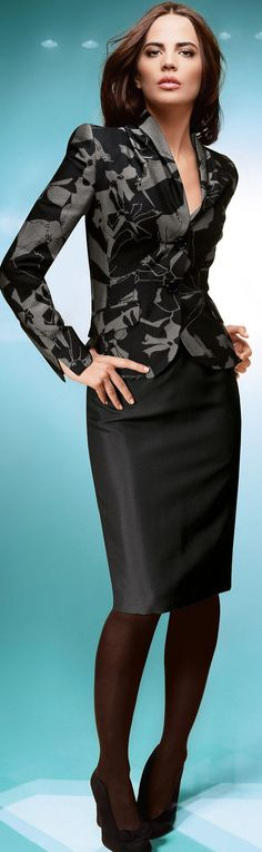 suited style ♥✤   Keep the Glamour   BeStayBeautiful