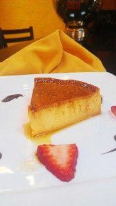 Quesillo - traditional dessert in Venezuela