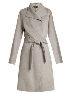 Lima long wool and cashmere-blend coat  | Joseph | MATCHESFASHION.COM US