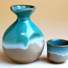 Arita ware Sake set - tokkuri and guinomi. Free worldwide shiping from Japan.