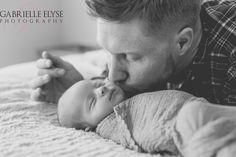 Daddy and baby girl  Raleigh Newborn Photographer Gabrielle Elyse Photography www.gabrielleelyse.com