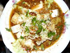 ketupat tahu - Indonesian food