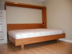 free plans for building a murphy bed