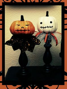 pumpkins....plain or painted or sparkly or pilgrim heads for Tuekeyday!