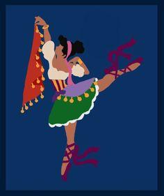 Ballerina Esmeralda simple