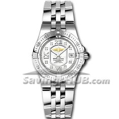 Breitling Windrider Starliner Womens Watch A7134012/A679  Today's DEAL of the DAY  Sale Price: $3899