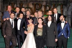 World Premiere of 'The Hobbit: The Battle OF The Five Armies' at Odeon Leicester Square on December 1, 2014 in London, England. (Photo by David M. Benett/WireImage)