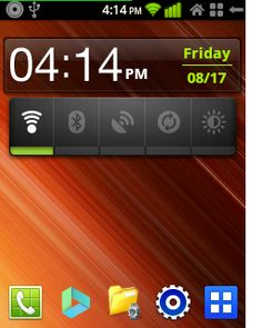 Handy Information: Screenshots of emanoN v7 Custom Rom on Samsung Galaxy Mini/Pop GT-S5570