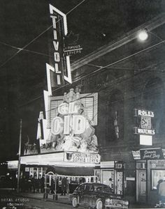 "Tivoli Theatre, Toronto, Showing ""El Cid"" Toronto Ontario Canada, Toronto City, Old Movies, Vintage Movies, Tivoli Theater, Yonge Street, Tivoli Gardens, Movie Theater, Theatre"
