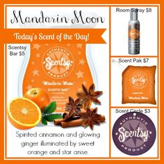 Mandarin Moon items can be purchased on my website: www.ericagonzalez.scentsy.us Follow me on Facebook: https://www.facebook.com/SavvySweetScentsbyErica