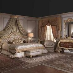 White and gold bedroom furniture – With a traditional bedroom, furnished with dressers, nightstands, drawer chests are great beds are … White And Gold Bedroom Furniture, Classic Bedroom Furniture, Contemporary Bedroom Furniture, Bedroom Furniture Design, Modern Bedroom Design, Luxury Furniture, Bedroom Chair, Mirror Bedroom, Bedroom Black