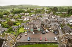 Harlech Town Seen From Top of Harlech Castle.   Have Camera Will Travel //  Photos