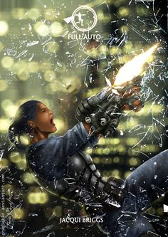 Mortal Kombat X-Jacqui -Full Auto Variation by Grapiqkad.deviantart.com on…