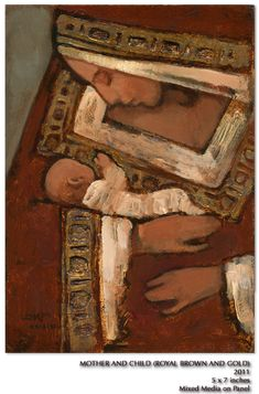 Kirk Richards - Mother and Child Religious Images, Religious Icons, Religious Art, Madonna Art, Madonna And Child, La Madone, Christian Artwork, Jesus Art, Blessed Mother Mary
