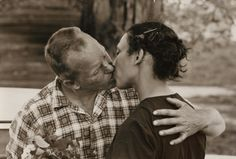 Richard and Mildred Loving, the couple that helped strike down all bans on interracial marriage in the United States. 1965.