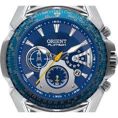 Relógio Masculino Orient Analógico Flytech Titanium Esportivo MBTTC006 D1SX Relogio  Masculino Orient, Relógios Masculinos, 10e0495e35