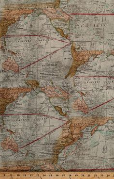 Tan vintage style world map fabric passport by 3 sisters from moda tan vintage style world map fabric passport by 3 sisters from moda 25 inches end of bolt pinterest map fabric fabrics and wood projects gumiabroncs Image collections