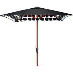 Marimekko For Target Umbrella 8u0027x6u0027 Koppelo Print Black (4,610 PHP) ❤
