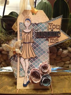Prima Paper Doll Stamp By: Julie Nutting