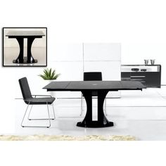 Found it at Wayfair - Modrest Split Extendable Dining Table