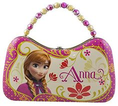 Disney Frozen Tin Purse Lunch Box  Princess Anna *** You can find more details by visiting the image link.