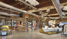"""""""THE TOUGHEST ICE CHESTS, SOFT COOLERS, DRINKWARE, AND GEAR OUT THERE"""" lauckgroup waspart of a collaborative, design team for a new flagship experience store for YETI in downtown Austin. The brand drove the design; creating a space that is consumer focused and interactive. By collaborating with the other firms for the design, the client chose...  Read more »"""