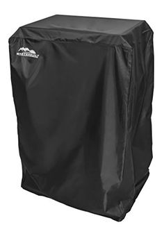 "#instagarden #design Keep your expensive outdoor #equipment safe from harsh weather conditions, dirt, dust and debris by using this 40"" Electric Smoker Cover. Th..."