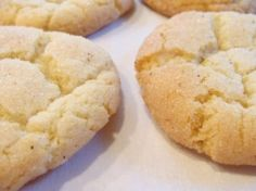 Egg Nog Snickerdoodles - made these for Cookie Swap 2011 - yum!
