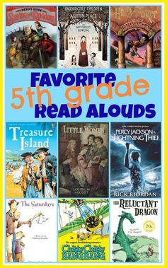 5th grade favorite books for kids