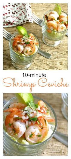 Shrimp Ceviche Cocktail - Ceviche de Cameron. This recipe for classic shrimp ceviche is one of the easiest and quickest ways to prepare this mouthwatering dish.