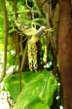 Hey, I found this really awesome Etsy listing at https://www.etsy.com/listing/241025886/hummingbird-beaded-3d-bird-ornament-seed