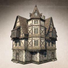 Fantasy House 02 by Sergey-Ryzhkov on DeviantArt
